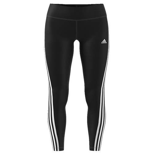 adidas Women's D2M RR 3-Stripe Long Pant