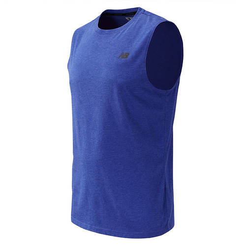 New Balance Men's Heathertech Sleeveless Tee