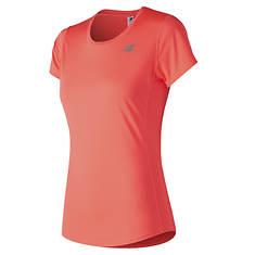 New Balance Women's Accelerate Short Sleeve T-Shirt