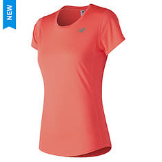 New Balance Women's Accelerate Short Sleeve T-Shirt