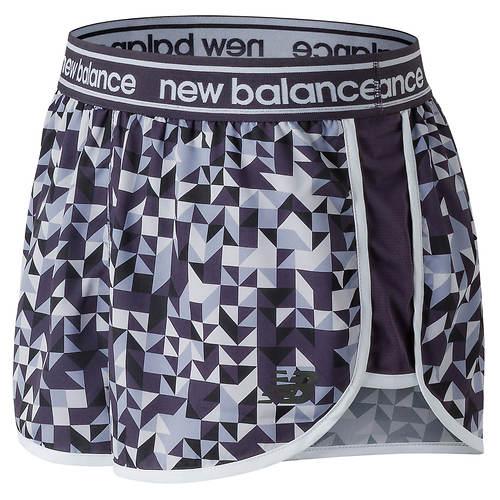 New Balance Women's Printed Accelerate 2.5 Short