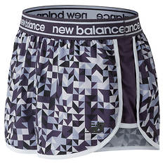 New Balance Women's Printed Accelerate 2.5 Short