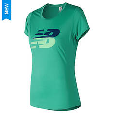 New Balance Women's Printed Accelerate Shortsleeve T-Shirts