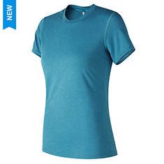 New Balance Women's Heathertech Crew Tee