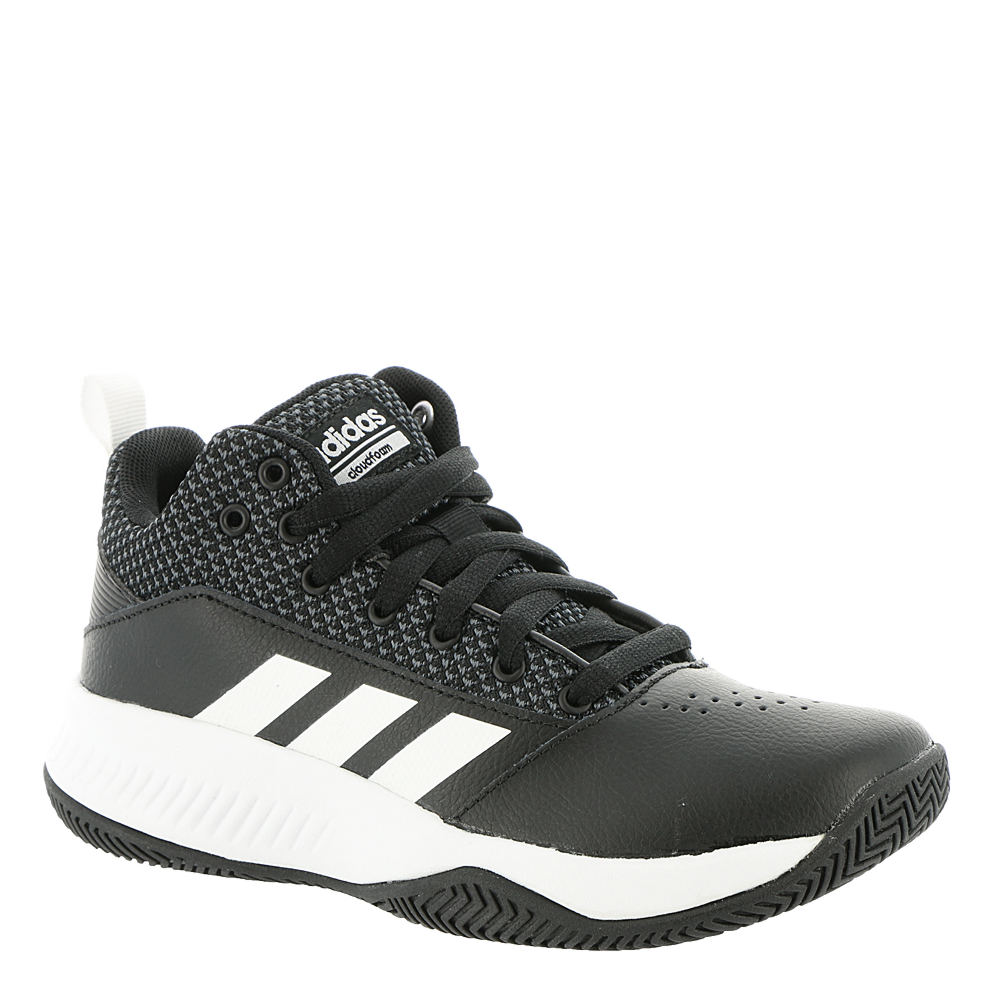 Adidas Boys  Cloudfoam Ilation Mid 2.0 Basketball Shoes (0191028169203) ( Black White a5807df68