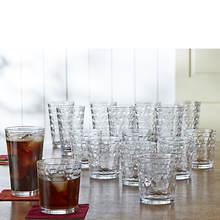 Gibson Squares 16-Piece Glassware Set