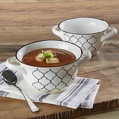 Crock Pot Mathiston Set Of 2 Soup Bowls
