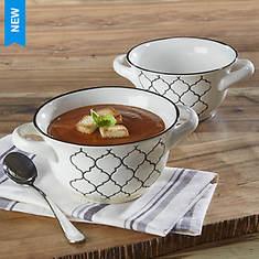 Crock Pot Mathiston Set Of 2 Soup Bowls