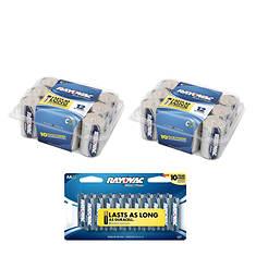Rayovac 44-Pack C and AA Battery Bundle