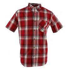Men's Plaid Short-Sleeve Shirt