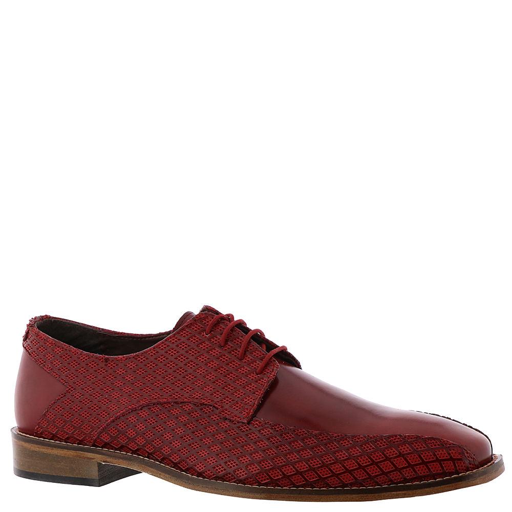 60s Mens Shoes   70s Mens shoes – Platforms, Boots Stacy Adams Gianluca Mens Red Oxford 14 M $44.99 AT vintagedancer.com