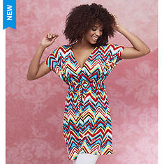 Chevron Empire Waist Tunic
