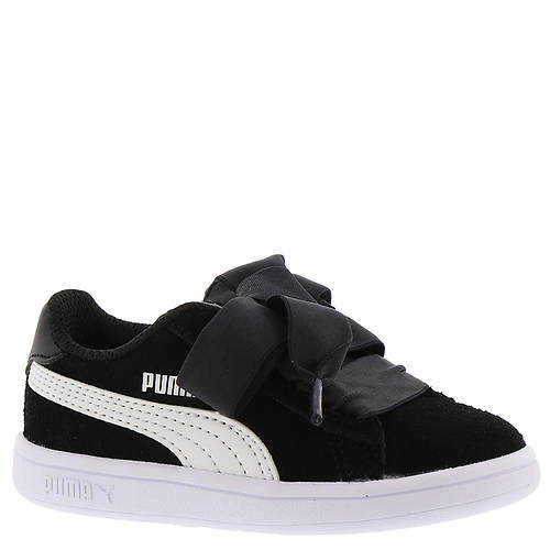 PUMA Smash v2 Ribbon AC PS (Girls' Toddler-Youth)