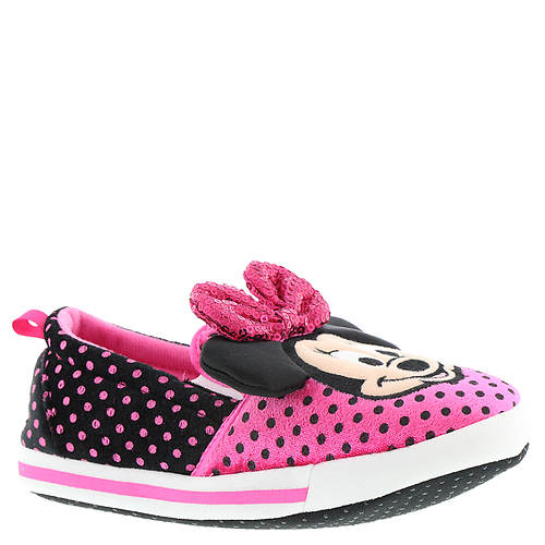 Disney Minnie Slipper MNF221 (Girls' Toddler)