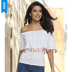 Tassel Trim Top