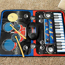 2-in-1 Musical Jam Playmat