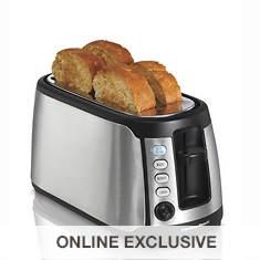 Hamilton Beach 4-Slice Long-Slot Toaster