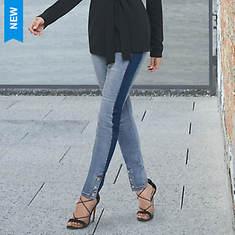 Contrast Stripe Jean