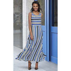 Multi-Stripe Maxi