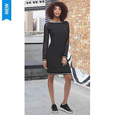 Varsity Rib Dress