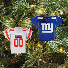 NFL Home & Away Jersey Ornaments