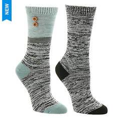 Steve Madden Women's SM37508C 2PK Boot Socks