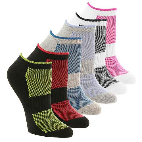 Steve Madden Women's SM36097A 6PK Low Cut Socks