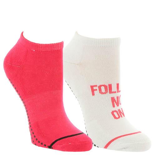 Steve Madden Women's SM36063A 2-Pack Yoga Socks