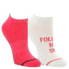 Steve Madden Women's SM36063A 2PK Yoga Socks