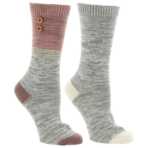 Steve Madden Women's SM37508A 2-Pack Boot Socks