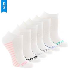 Steve Madden Women's SM36101A 6PK Low Cut Socks