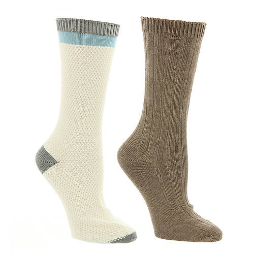 Steve Madden Women's SM37516A 2-Pack Boot Socks