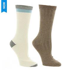 Steve Madden Women's SM37516A 2PK Boot Socks