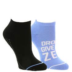 Steve Madden Women's SM36064A 2PK Yoga Socks