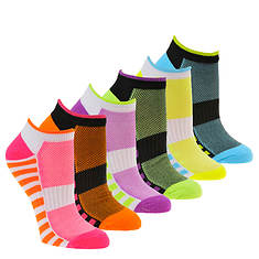 Steve Madden Women's SM36098A 6PK Low Cut Socks