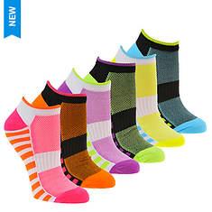 Steve Madden Women's SM36098A 6PK Low Cut Socks
