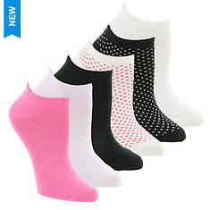 Steve Madden Women's SM36057A 6PK Low Cut Socks