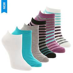 Steve Madden Women's SM36117A 6PK Low Cut Socks