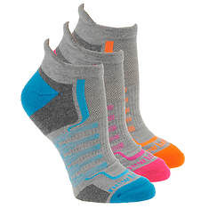 New Balance Women's N686-3 Perf Low Cut Tab 3-Pack Socks