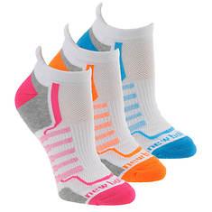 New Balance Women's N686-3 Perf Low Cut Tab 3-Pack Socks