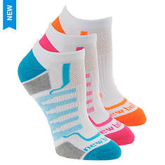 New Balance Women's N611-3 Perf No Show 3-Pack Socks