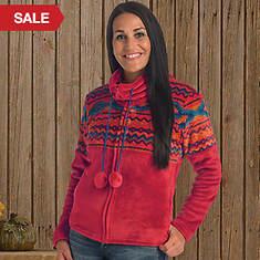Aztec Flannel Plush Jacket
