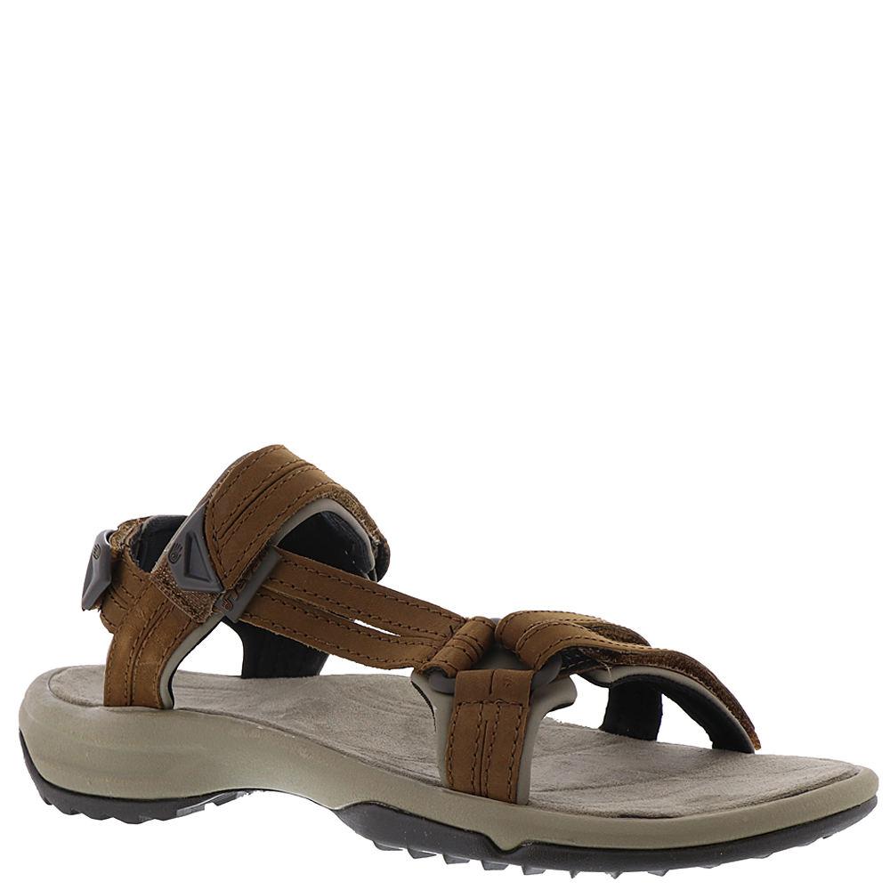 982b9a923431bf Details about Teva Terra Fi Lite Leather Women s Sandal - Brown