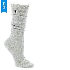 BEARPAW Women's Slouchy Boyfriend Crew Socks