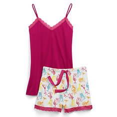 Shortie Pajama Set
