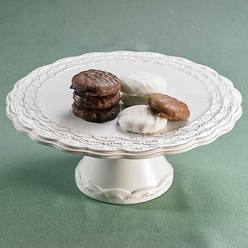 Elegant Pedestal Plate