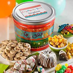 Personalized Celebration Birthday Tin