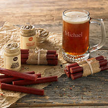Barbeque Beef Sticks and Personalized Mug