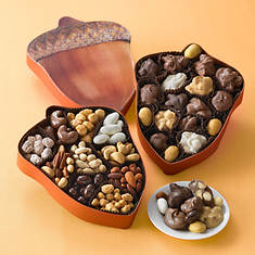 Nutty Acorn Assortments - Chocolates & Nuts