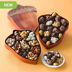 Nutty Acorn Assortments - Chocolates & Nuts